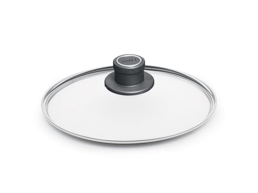 Üvegfedő, műanyag fogantyúval, Ø 18 cm