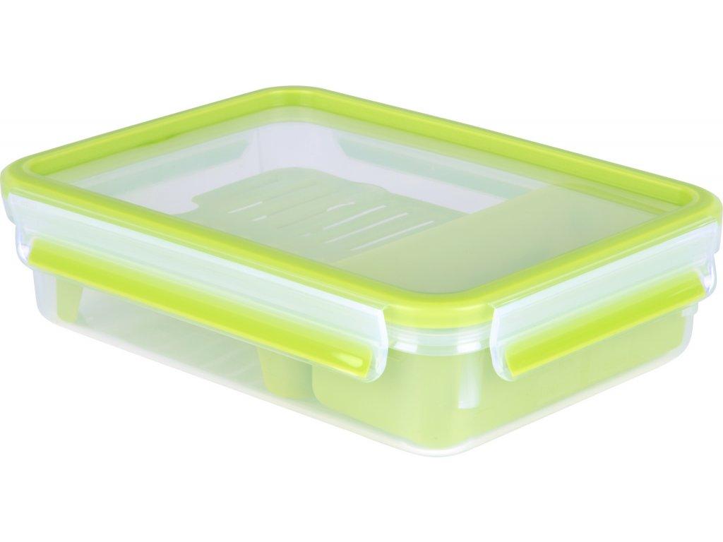 Doboz belső táralókkal Master Seal To Go K3100312 Tefal téglalap alakú 1,2 l