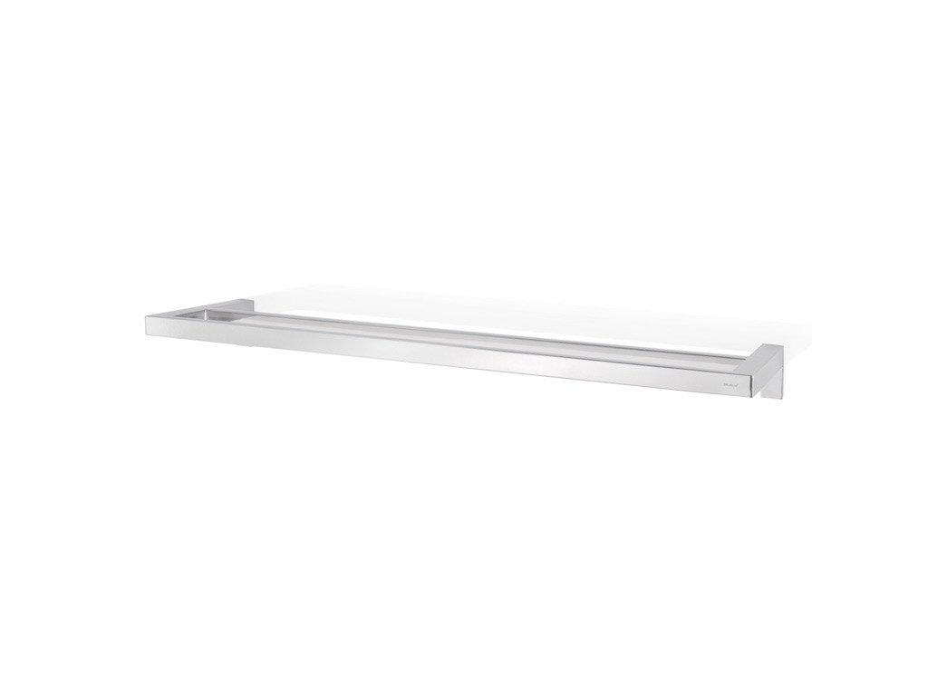 MENOTO dupla törülközőtartó, fényes rozsdamentes acél, 64 cm