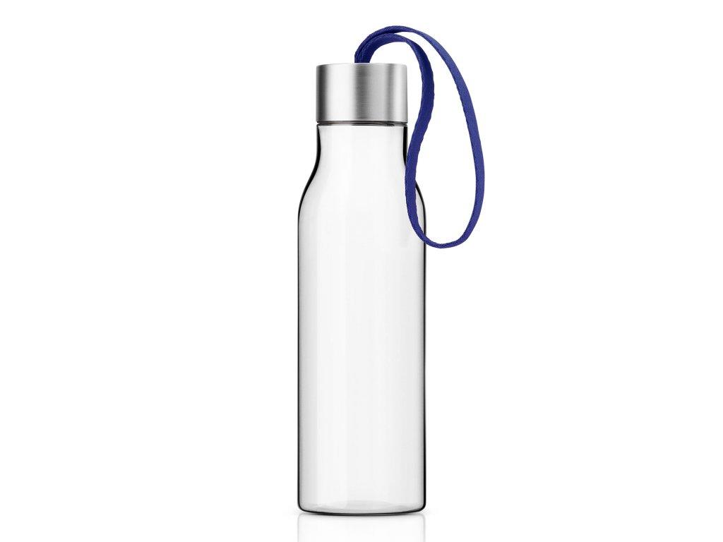 Ivópalack sötétkék pánttal, 0,5 liter, Eva Solo