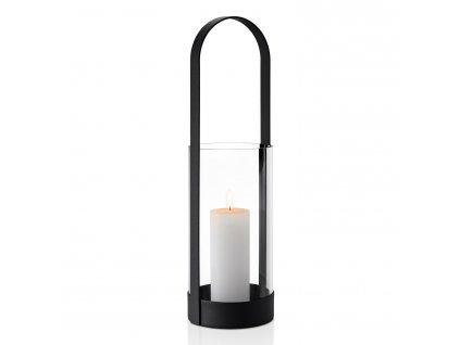 Hordozható lámpás  skandináv stílus nagyméretű 53 cm NERO