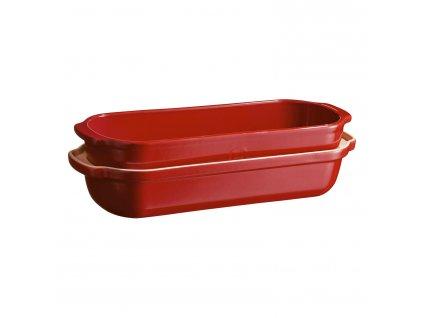 Szögletes kenyérsütő forma nagy, vörös/burgundy