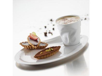 Froissés cappuccino pohár, 18 cl, fehér