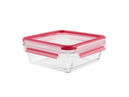 Üveg ételtároló doboz Master Seal Glass K3010312 Tefal szögletes 900 ml