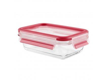Üveg ételtároló doboz  Master Seal Glass K3010412 Tefal téglalap alakú 1,3 l