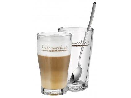 Barista Latte Macchiato üvegpoharak, 2 db
