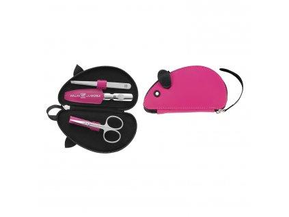 ZWILLING® Classic Inox manikűrkészlet gyerekenek, 3 részes, rózsaszín