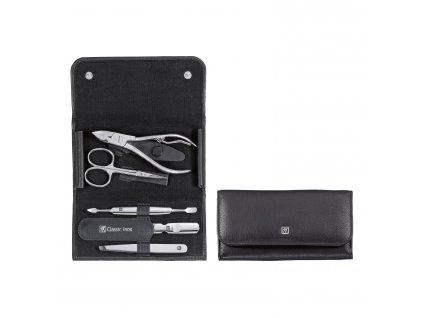 ZWILLING® Classic Inox manikűrkészlet körömcsipesszel, 5 részes, fekete