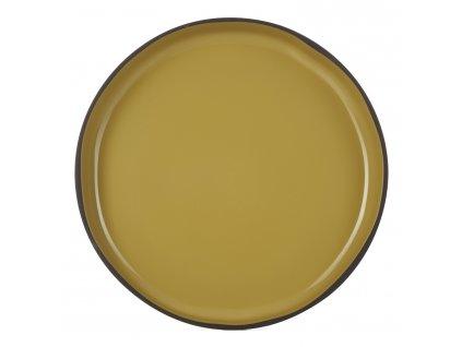 Tumeric CARACTERE GOURMET lapostányér, curry színű
