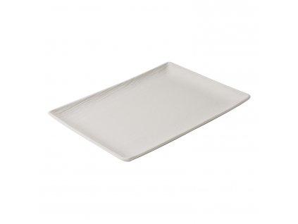 Arborescence tányér / tálca, elefántcsontfehér, 32 x 23 cm