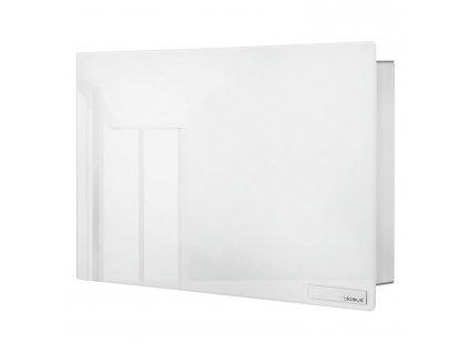 Kulcstartó szekrény mágneses ajtóval VELIO fehér 20 x 30 cm