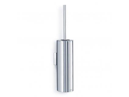 NEXIO falra erősíthető WC-kefe, fényes rozsdamentes acél, 46 cm
