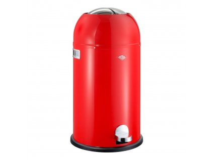Kickmaster Soft szemeteskosár, 33 liter, piros