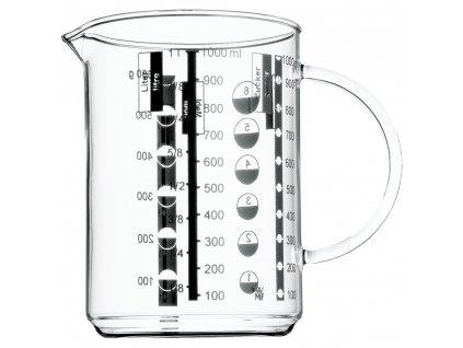 Üveg mérőedény, 1,0 liter, WMF