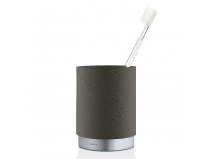 ARA fogkefetartó pohár, matt rozsdamentes acél, antracitszürke
