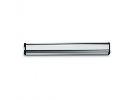 Mágneses késtartó, 30 cm, ezüstszínű