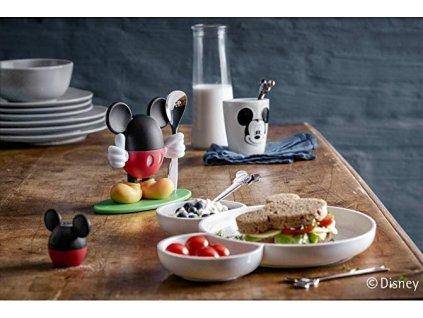 Koktél pálcika készlet tányérral Mickey Mouse