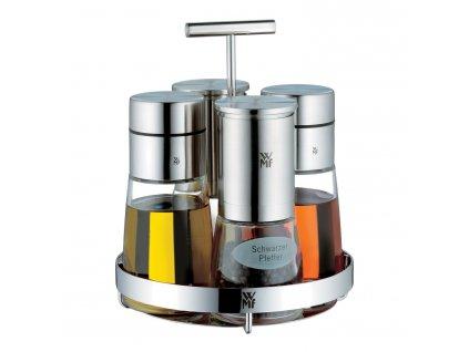 De Luxe ecet-/olaj- és fűszertartó készlet