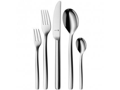 Atic Cromargan protect® evőeszközkészlet: 30 darabos közepes kiszerelés, monoblokk késekkel