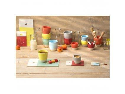 Color Lab kistányér, narancsvörös