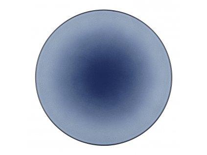 Equinoxe lapostányér / tálalótál, Ø 31,5 cm, viharkék, Revol