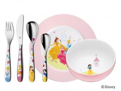 """Gyerek evőeszköz készlet 6 részes """"Disney Princess"""" ©Disney"""