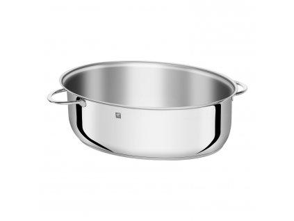 ZWILLING® Plus ovális sütőtál multifunkciós fedővel, rozsdamentes acél