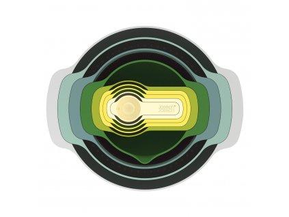 Nest™ 9 Plus tálka- és mérőedény készlet, szűrővel és szitával, Opal