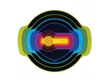 Nest™ 9 Plus tálka- és mérőedény készlet, szűrővel és szitával, Multi-colour
