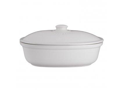 Kenyértartó edény ovális fehér®