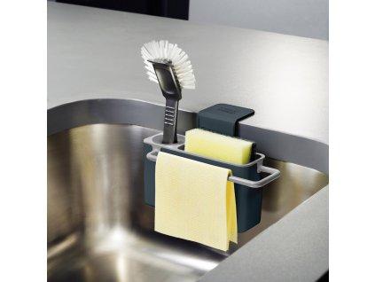 Sink Aid™ felakasztható tisztítószer-tároló, szürke