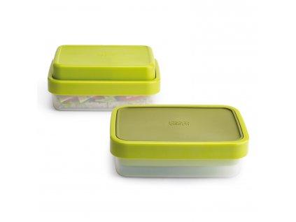 GoEat™ ételhordó doboz, 500 / 700 ml, zöld