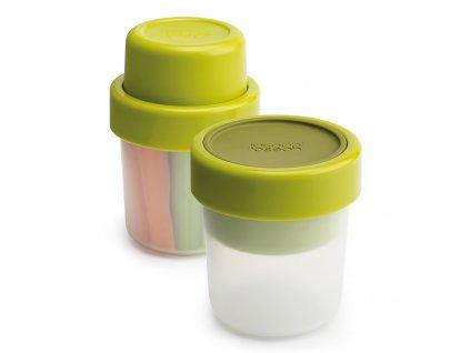 GoEat™ tízórais doboz/pohár, 100 és 240 ml, zöld