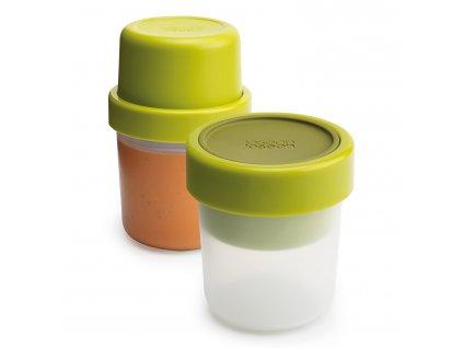 GoEat™ ételhordó doboz/pohár levesekhez, 300 / 600 ml, zöld