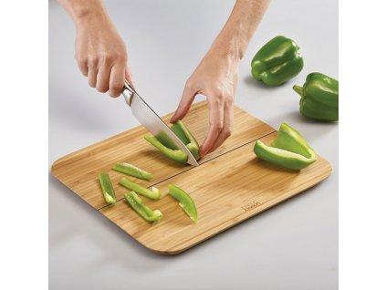 Chop2Pot™ Large összecsukható bambusz vágódeszka