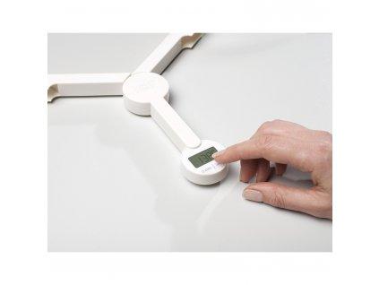 TriScale™ digitális konyhai mérleg, összecsukható, fehér