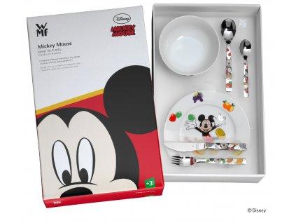 """""""Mickey egér"""" ©Disney gyerekevőeszköz készlet, 6 részes"""