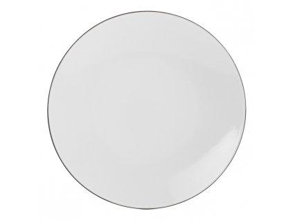 White Cumulus Equinoxe lapostányér, Ø 26 cm, fehér