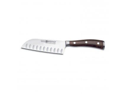 Ikon Santoku kés, mélyedésekkel, 14 cm
