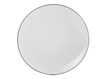 White Cumulus Equinoxe kenyeres tányér, Ø 16 cm, fehér
