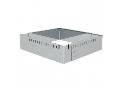 Sütőforma / keret, közepes, szögletes - téglalap