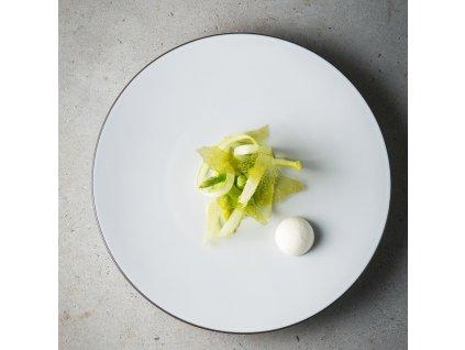White Cumulus Equinoxe lapostányér, Ø 28 cm, fehér