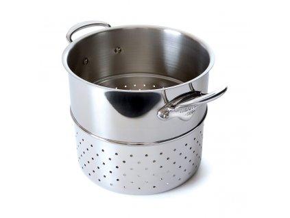 Betét tésztafőzéshez, rozsdamentes acél, Ø 24 cm