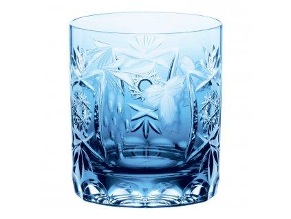 Traube whiskys kristálypohár, Aquamarine