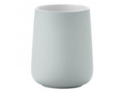 NOVA ONE fogkefetartó pohár, porcelán, dusty green