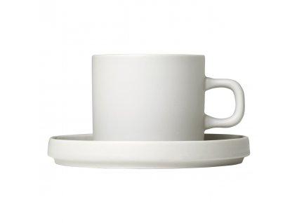 2 db kávéscsésze szett kistányérral Mio krémszínű 0,2 l Blomus