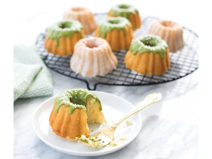 Anniversary Bundlette Bundt® mini kuglóf sütőforma, 6 adagos, arany