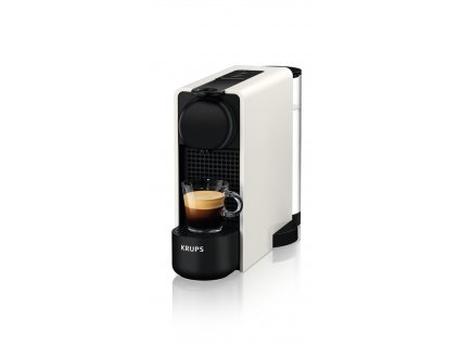 Kapszulás kávéfőző KRUPS Essenza Plus White & Aeroccino