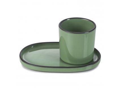 Mint CARACTERE kávés/ teás pohár, menta színű