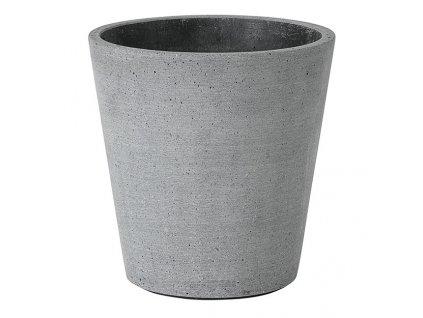 Coluna sötétszürke virágcserép Ø 14 cm